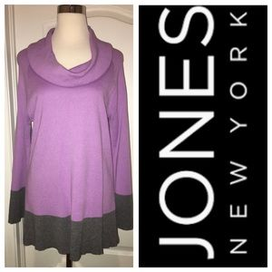 Lavender & Gray Sweater from JNY